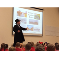 Isambard Kingdom Brunel visiting for Science Week
