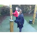 Science class measuring sound