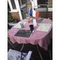 Home learning - Joseph - French cafe