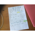 Finlay's poster about the River Nile