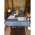 Home learning - Joseph