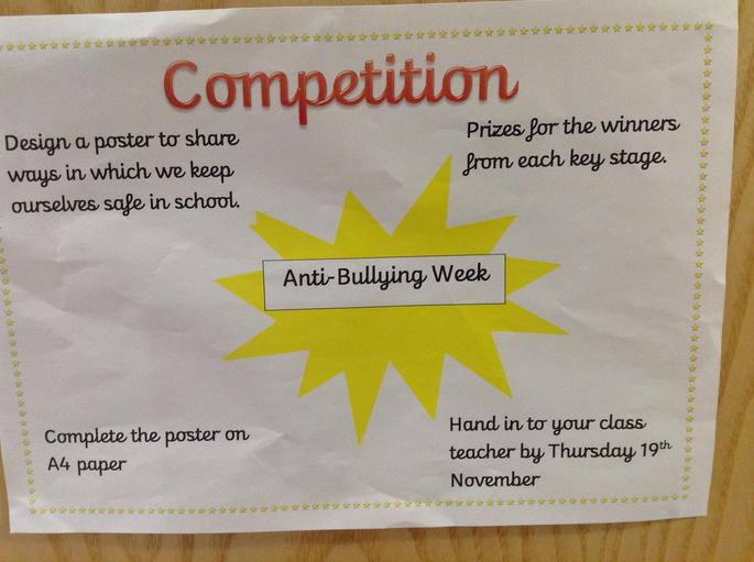 Anti-bullying week competition