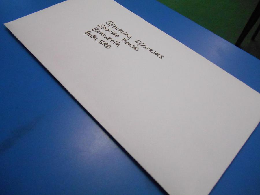 A mystery letter!