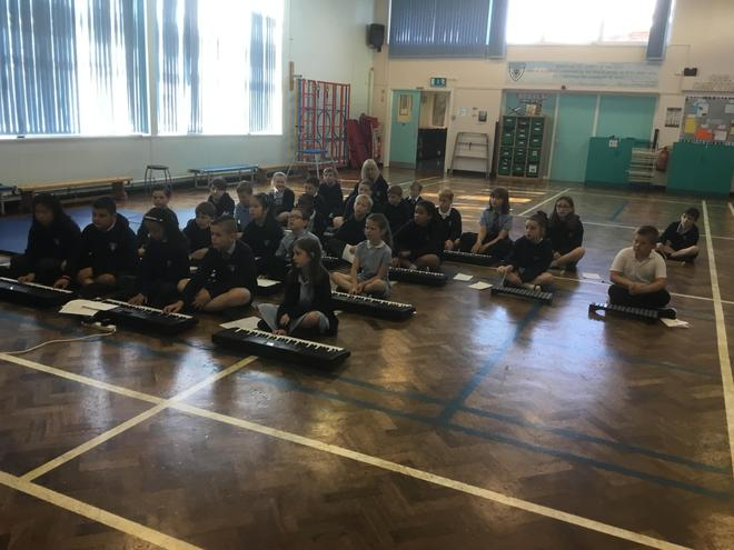 Year 4 students sat their London College of Music Ensemble examination- Summer 2021