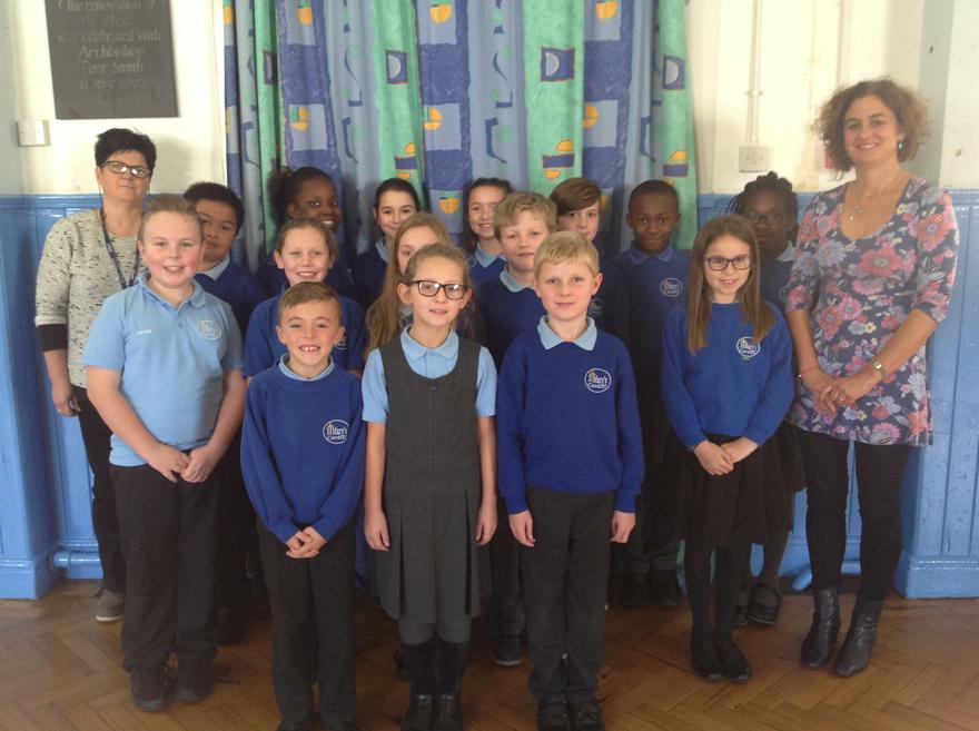 Our Members with Mrs Laydon and Mrs Glowacka
