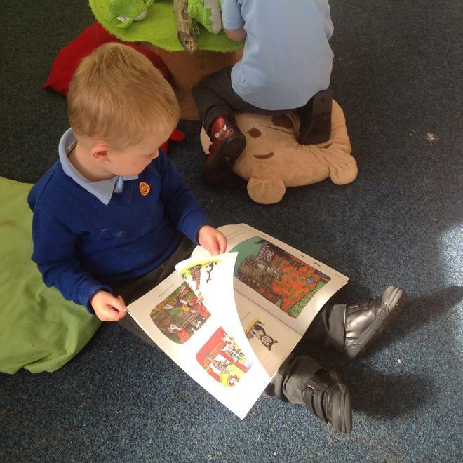 """""""I read a story."""""""