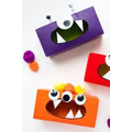 Create a monster with a tissue box!
