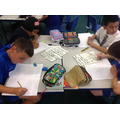 Y6 Researching and comparing WW1 facts.