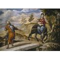 The Flight into Egypt - El Greco