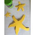 finished starfish