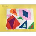 Matisse-inspired artwork!