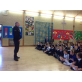 PC Woodmansee came to visit.