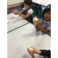 making models from salt dough