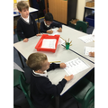 writing words and numbers