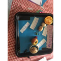 Scarlett's fruit and veg solar system!