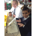 Y6 Showing off what they remember from Y4