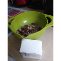 materials for the bird feeder filling
