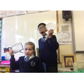 Getting into the roles of our book characters