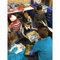 sharing story boxes with year 4
