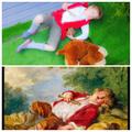 Sleeping shepher-Boucher - Sleeping MB