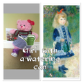 Girl with watering can - Renoir -Ted with can -LKM