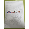 Beau's letter from home
