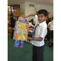 DT - We made robots from recycled materials!