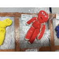 3d salt dough figures