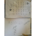 More maths and writing from Pino - looks good!