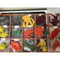 painted salt dough models