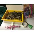 materials to make a stick buddy