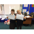 Science - The winners of our 'Push or Pull' bingo!