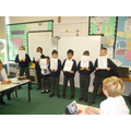 Y5 worship council performed a class assembly