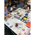 painting with primary and secondary colours 27/9
