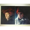 Portrait of a Man -Jan van Eyck- portrait of  MrsB
