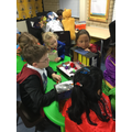 storytelling with Year 1 on world book day