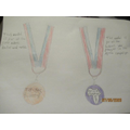 Grace's medal designs