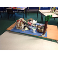 Year 5 making Anglo Saxon villages