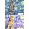 Starry Night Cat - Henn Starry Night Gloria-BRW