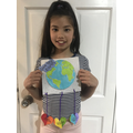 Sophie's beautiful work for Earth day!