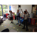 Retelling the Creation Story with music and drama