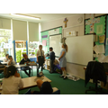 We dramatised Jesus' resurrection in the tomb
