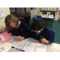 Y6 Using clues to work out the words.