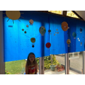 Poppy created the solar system - wow!