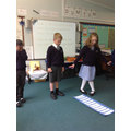 Literacy - Performing our group poetry