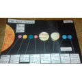 Isabelle's solar system - how lovely!