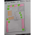 plan of the garden - what do the colours mean?