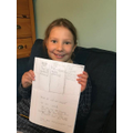 Amazing literacy from Poppy!