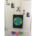 Lexie's fantastic art work for Earth day!