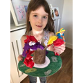 Niamh's lovely Easter garland